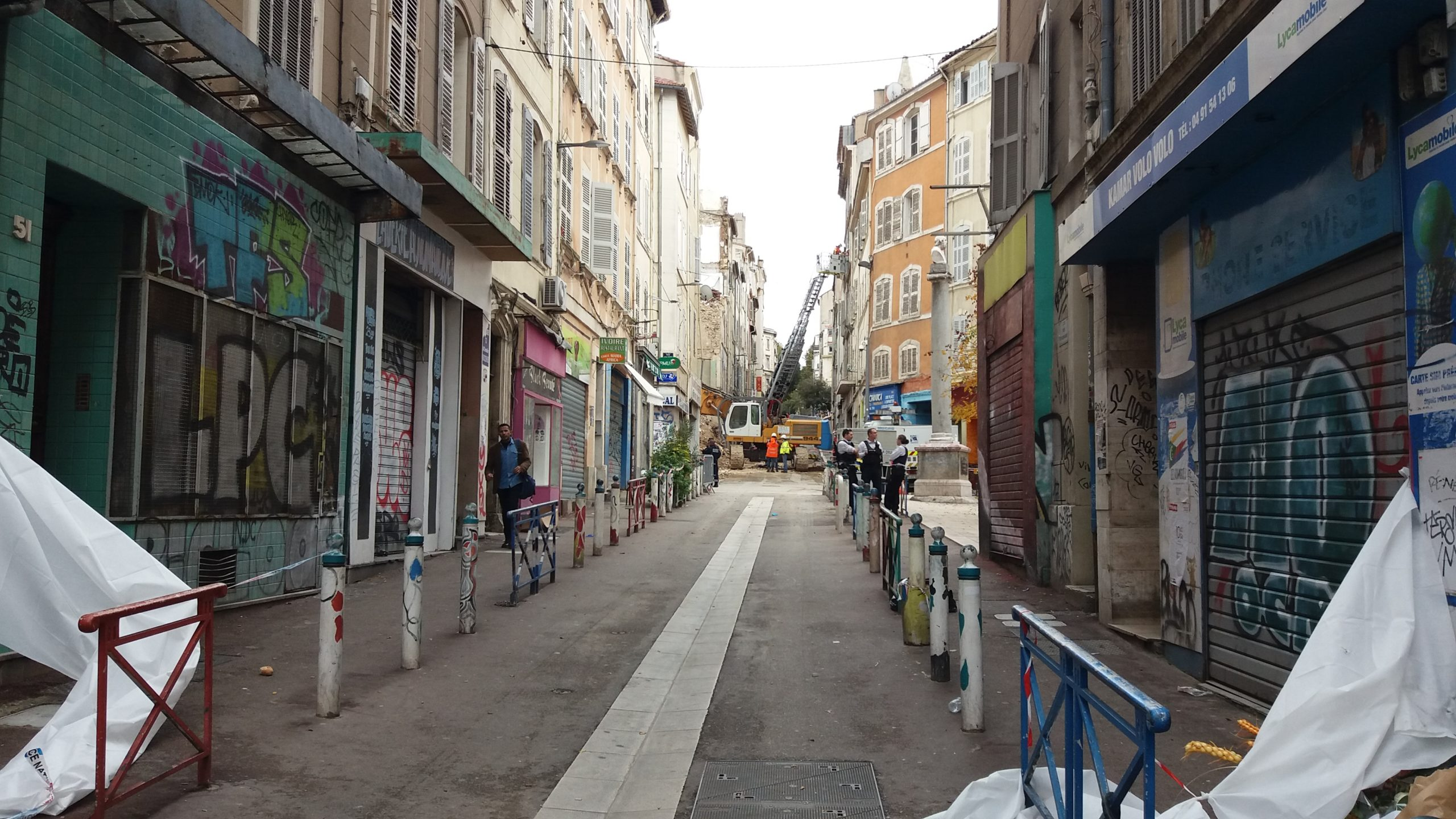 Mar, rue d'aubagne