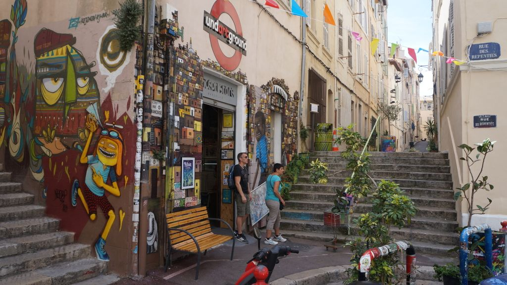 """""""Le Panier"""", one of the old areas of Marseille"""